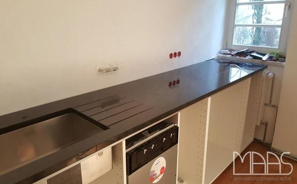 Dresden Alexander Black Granit Arbeitsplatten
