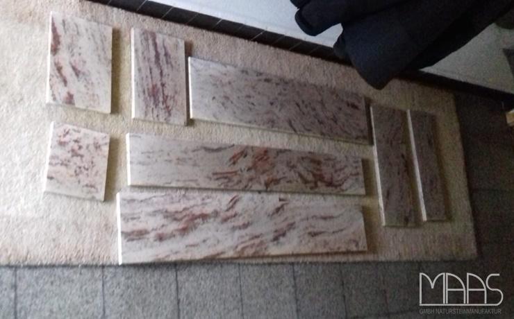 Garbsen Ivory Brown Granitplatten