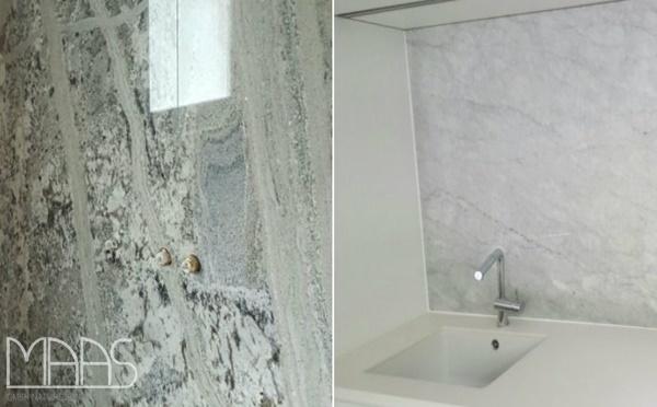 Aufmaß, Lieferung und Montage - Köln Mont Bleu Granit Rückwände