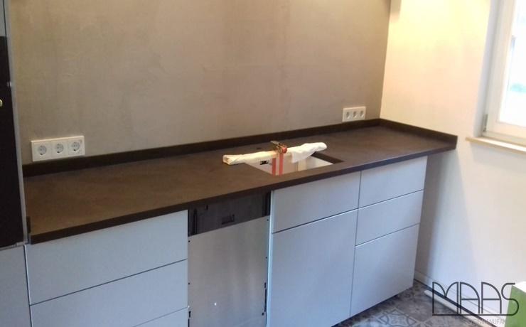 Königswinter IKEA Küche mit Mustang Schiefer Arbeitsplatten