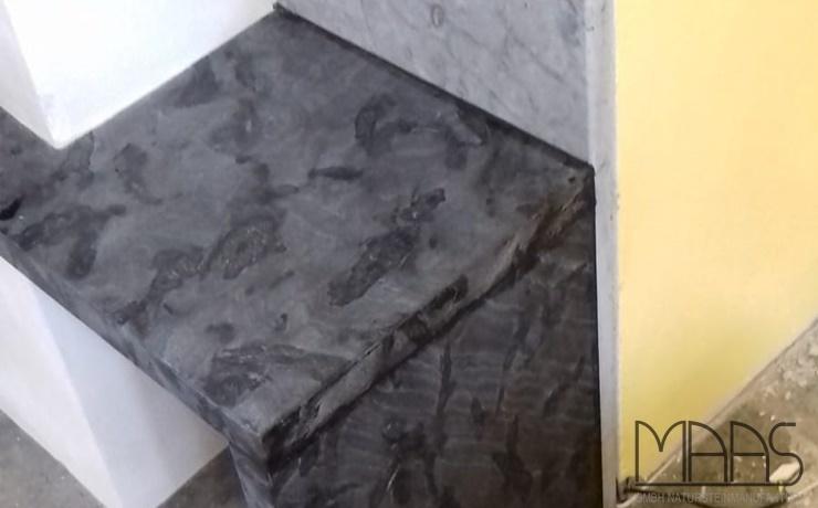 Naumburg (Saale) Anden Phyllit Granit Kaminabdeckung