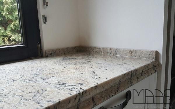Aufmaß, Lieferung und Montage - Wien Cielo Ivory Granit Arbeitsplatten