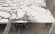 Naturstein Marmor Schürze