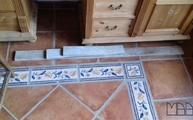 Lieferung der Astoria Fantasy Granit Arbeitsplatten