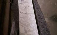 Lieferung in Berlin: Arabescato Cervaiole Marmor Trittstufen