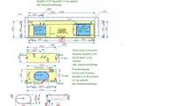 CAD zeichnung Arbeitsplatte, Waschtischplatte und Rückwand