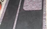 Lieferung in Garbsen der Nero Laminam Waschtischplatte und Fensterbank