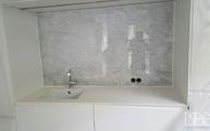 Marmor Rückwand Bianco Carrara C