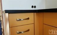 Silestone Arbeitsplatte Negro Tebas in 3 cm Stärke