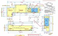 Silestone Arbeitsplatte - Produktionsplan / Zeichnung