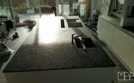 Moderne Arbeitsplatte aus dem Schiefer Anden Phyllit