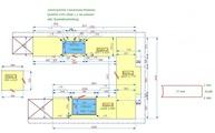 CAD Zeichnung für Caesarstone Arbeitsplatten Mink in Lienz