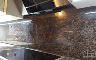 Granit Tan Brown Rückwand