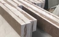 Verklebung der Caesarstone Platten auf Stoß