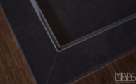 Polierte Arbeitsplatten aus dem Caesarstone Material Mink