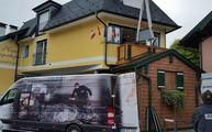 Aufmaß, Lieferung und Montage der Granit Arbeitsplatte in Salzburg