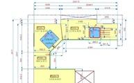 CAD Zeichnung Granit Arbeitsplatten Labrador Blue GT