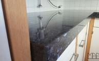 Der starke Granit Labrador Blue GT als Küchenarbeitsplatte