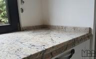 Cielo Ivory Granit Arbeitsplatten mit Barrockkanten