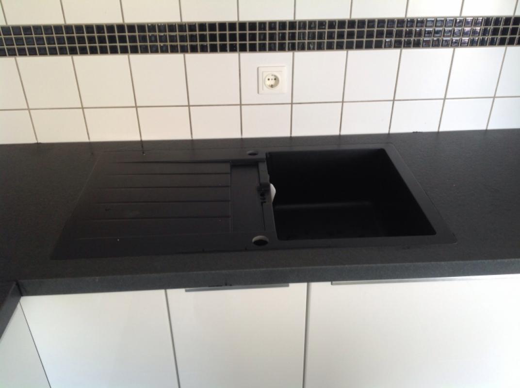 Niedernhausen Devil Black Granit Arbeitsplatten