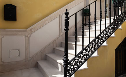 Silestone Treppen - Extravagante Silestone Treppen
