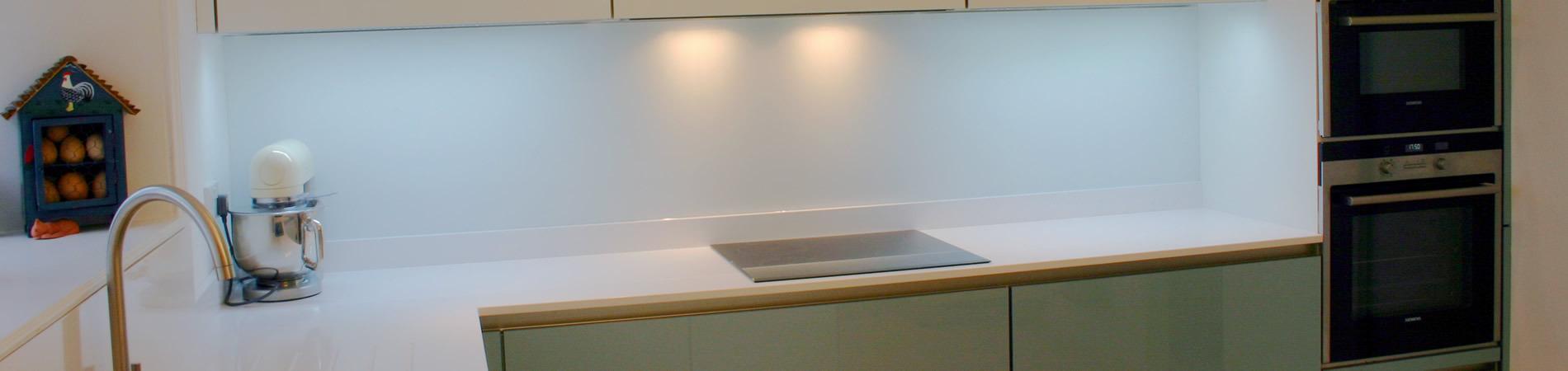 Glasrückwand Küche